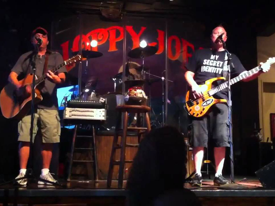 Pete and Wayne Sloppy Joes Key West Put in Bay Days