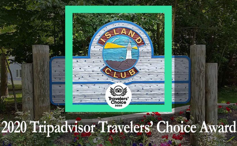 Island Club Wins 2020 Tripadvisor Travelers' Choice Award