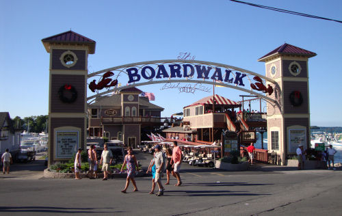 Boardwalk Restaurant Put In Bay