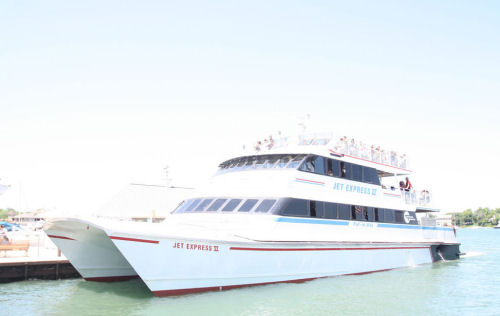 Jet Express Passenger Ferry Service | Put-in-Bay Ohio's fastest ferry