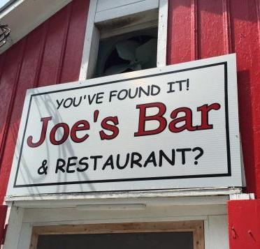 A Joe's Bar & Restaurant?